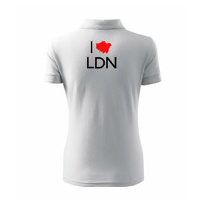 I Love LDN - Polokošile dámská Pique Polo