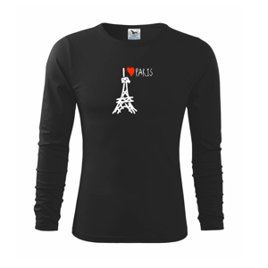 I love Paris - Triko s dlouhým rukávem FIT-T long sleeve