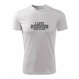I love running when i done - Dětské triko Fantasy sportovní (dresovina)