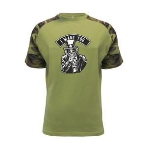I want you - Raglan Military