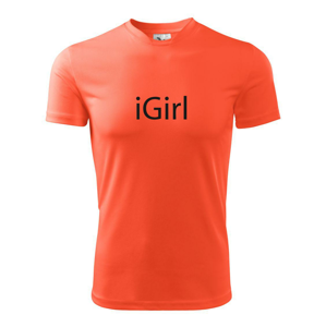 iGirl - Pánské triko Fantasy sportovní (dresovina)