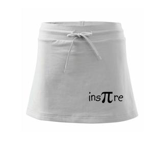 Inspire matematika - Sportovní sukně - two in one