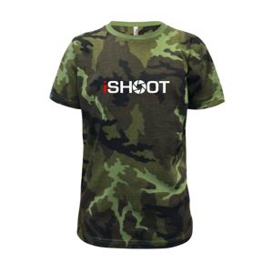 iShoot - Dětské maskáčové triko