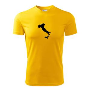 Itálie obrys - Dětské triko Fantasy sportovní (dresovina)