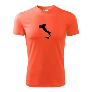 Itálie obrys - Pánské triko Fantasy sportovní (dresovina)