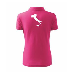 Itálie obrys - Polokošile dámská Pique Polo