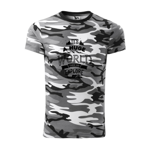 Its a huge world - Army CAMOUFLAGE