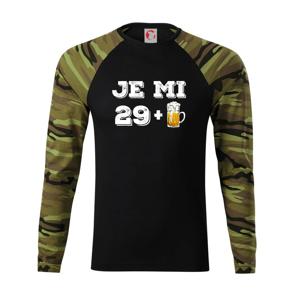 Je mi 30 pivo - Camouflage LS