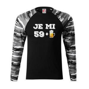 Je mi 60 pivo - Camouflage LS