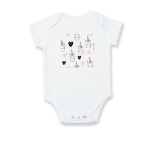 Jednorožec srdce - Body kojenecké