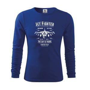 Jet Fighter - Triko dětské Long Sleeve