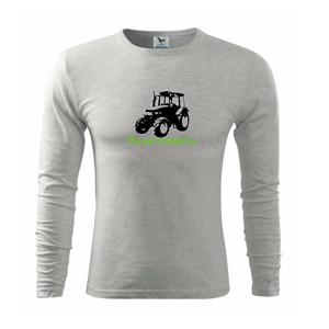 John traktorista - Triko s dlouhým rukávem FIT-T long sleeve
