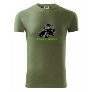 John traktorista - Viper FIT pánské triko