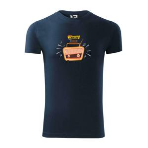 Jsem chytrý jako rádio barevné - Replay FIT pánské triko