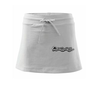 Jsem rybářova žena - Sportovní sukně - two in one
