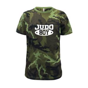 Judo Boy - Dětské maskáčové triko