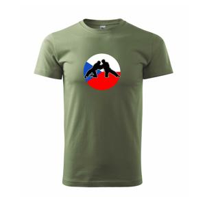 Judo CZ vlajka - Heavy new - triko pánské