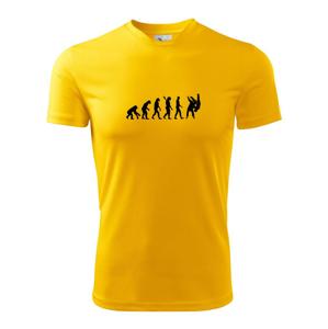 Judo Evoluce boj - Pánské triko Fantasy sportovní (dresovina)