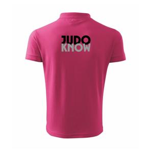 Judo know - Polokošile pánská Pique Polo 203