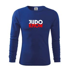 Judo know - Triko dětské Long Sleeve