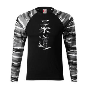 Judo maskáčový nápis - Camouflage LS
