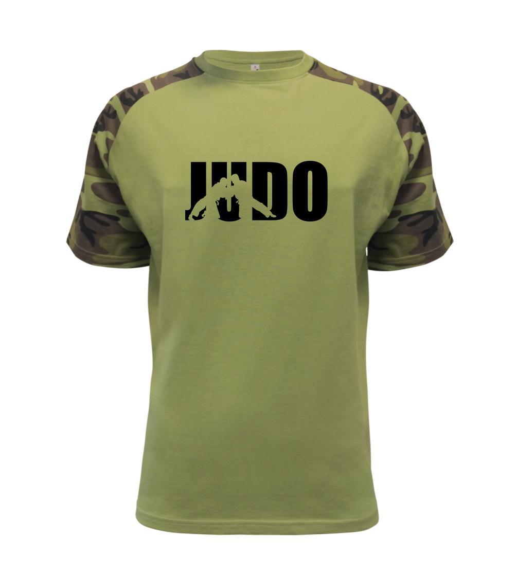Judo - Nápis - Raglan Military