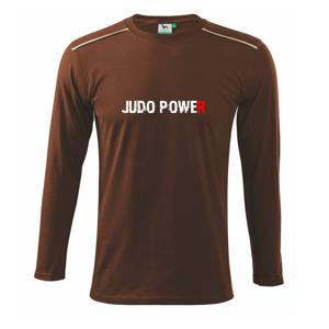 Judo power - Triko s dlouhým rukávem Long Sleeve