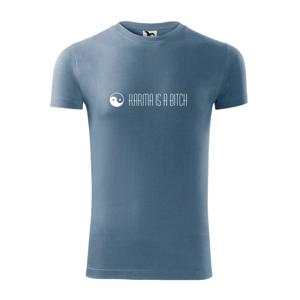 Karma nápis dlouhý - Replay FIT pánské triko
