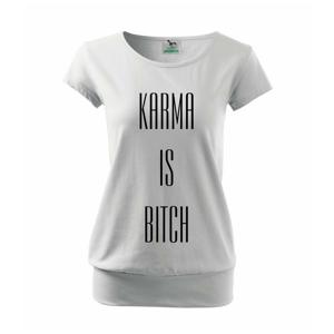 Karma nápis velký - Volné triko city