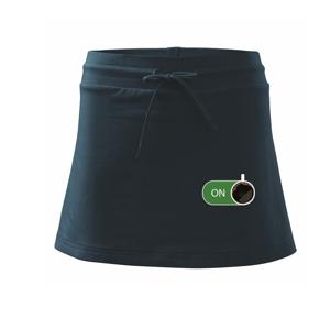 Káva ON - Sportovní sukně - two in one