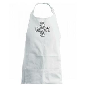 Keltský uzel kříž - Dětská zástěra na vaření