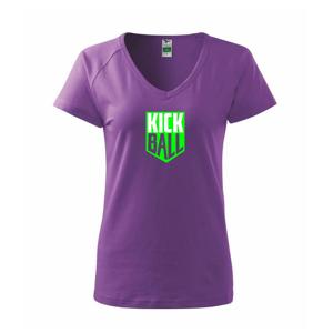 Kickball - štítek - Tričko dámské Dream