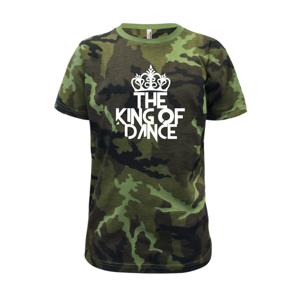 King of Dance - Dětské maskáčové triko