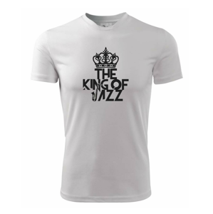 King of Jazz - Dětské triko Fantasy sportovní