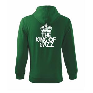 King of Jazz - Mikina s kapucí na zip trendy zipper