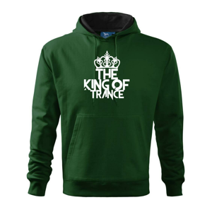 King of Trance - Mikina s kapucí hooded sweater
