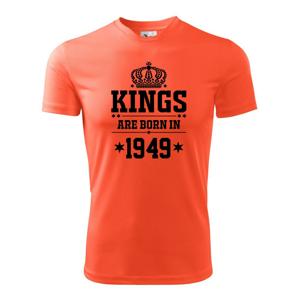 Kings are born in 1949 - Pánské triko Fantasy sportovní (dresovina)