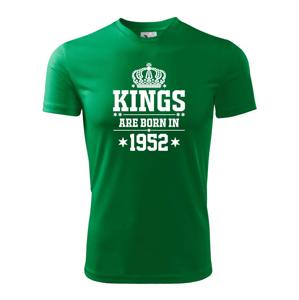 Kings are born in 1952 - Pánské triko Fantasy sportovní