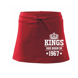Kings are born in 1967 - Sportovní sukně - two in one