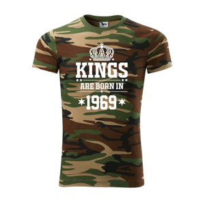 Kings are born in 1969 - Army CAMOUFLAGE