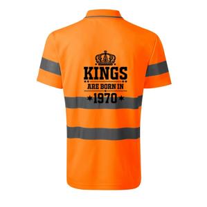 Kings are born in 1970 - HV Runway 2V9 - Reflexní polokošile