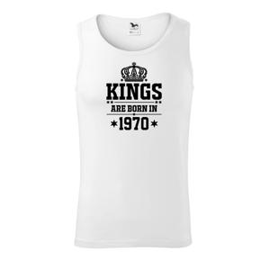 Kings are born in 1970 - Tílko pánské Core