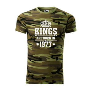 Kings are born in 1977 - Army CAMOUFLAGE
