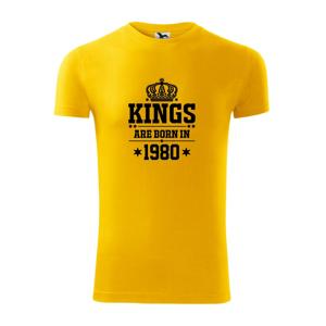Kings are born in 1980 - Viper FIT pánské triko