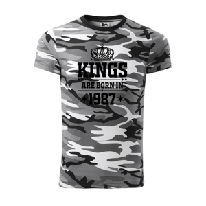 Kings are born in 1987 - Army CAMOUFLAGE