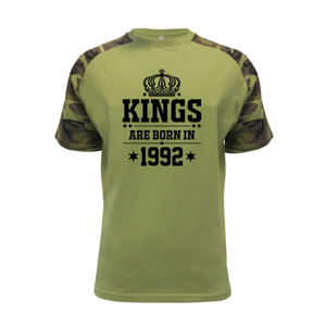 Kings are born in 1992 - Raglan Military