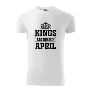 Kings are born in April - Replay FIT pánské triko