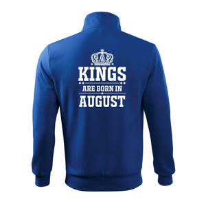 Kings are born in August - Mikina bez kapuce Adventure