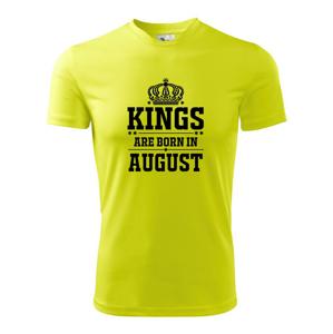 Kings are born in August - Pánské triko Fantasy sportovní (dresovina)