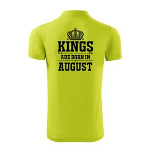 Kings are born in August - Polokošile Victory sportovní (dresovina)